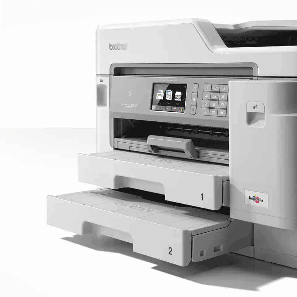 Beste zakelijke printer 2021 Brother MFCJ5945DW 2 lades